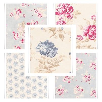 tissu fleurs anglais id e d 39 image de fleur. Black Bedroom Furniture Sets. Home Design Ideas