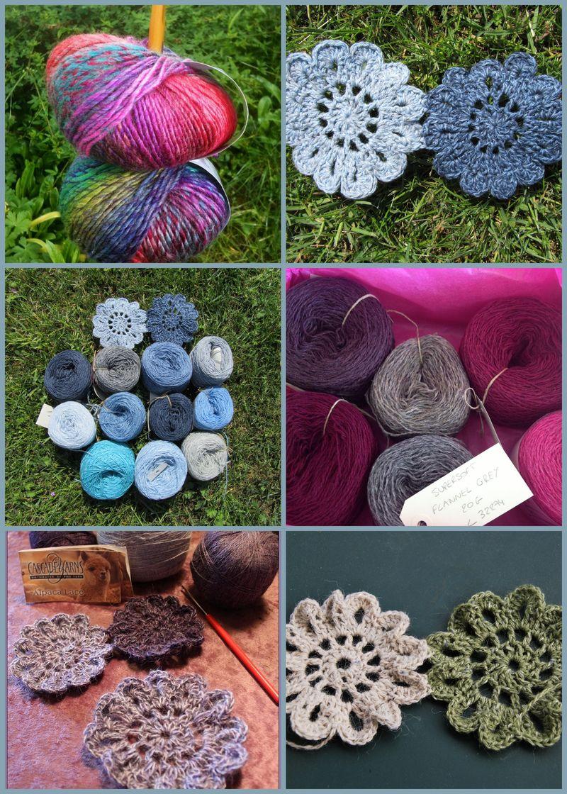 Montage etoles crochet